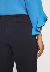 Wallis Petite - PULL ON TROUSER - Trousers - navy - 4