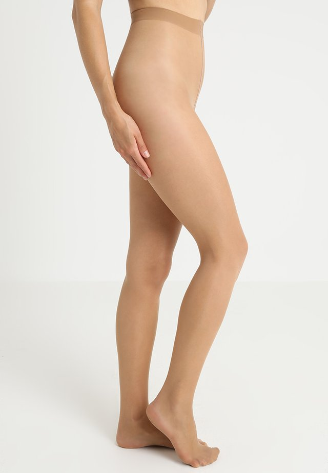 FALKE SEIDENGLATT 15 DENIER STRUMPFHOSE TRANSPARENT GLÄNZEND - Collant - golden