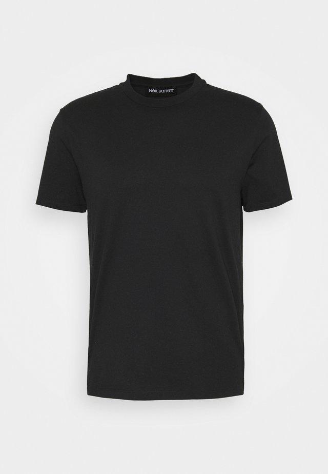 ABBREVIATION VINTAGE - T-shirt basic - black/black