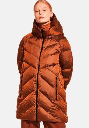 Down coat - copper