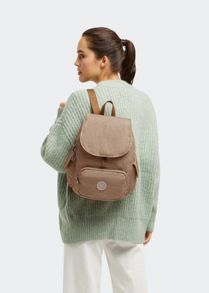 CITY PACK S - Rucksack - dotted d beige
