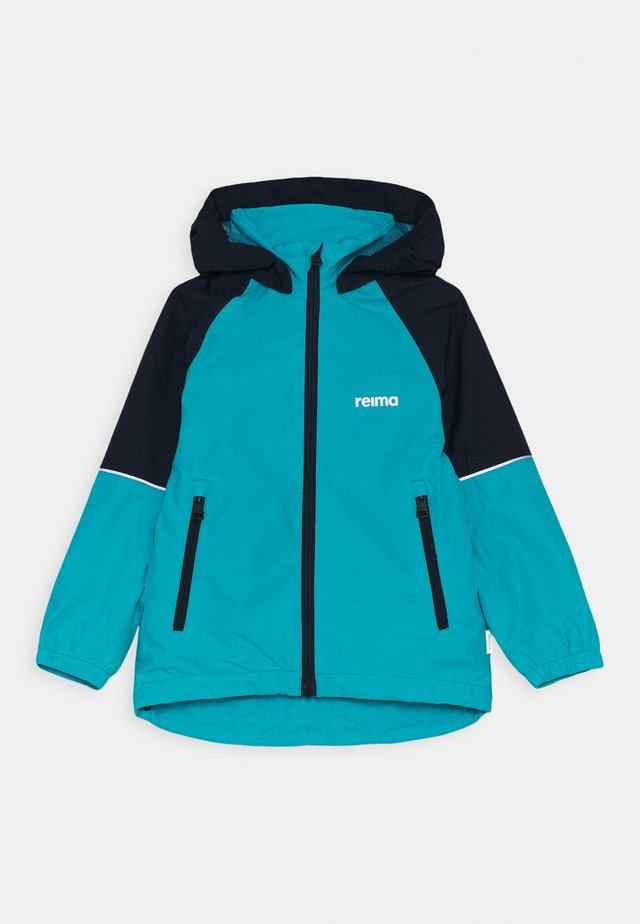FISKARE JACKET - Veste imperméable - aquatic