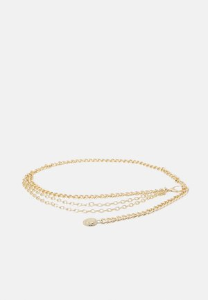 PCASHLEY WAIST CHAIN BELT - Waist belt - gold-coloured