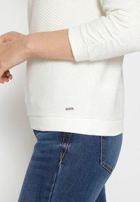 TOM TAILOR DENIM - Sweatshirt - off white - 7
