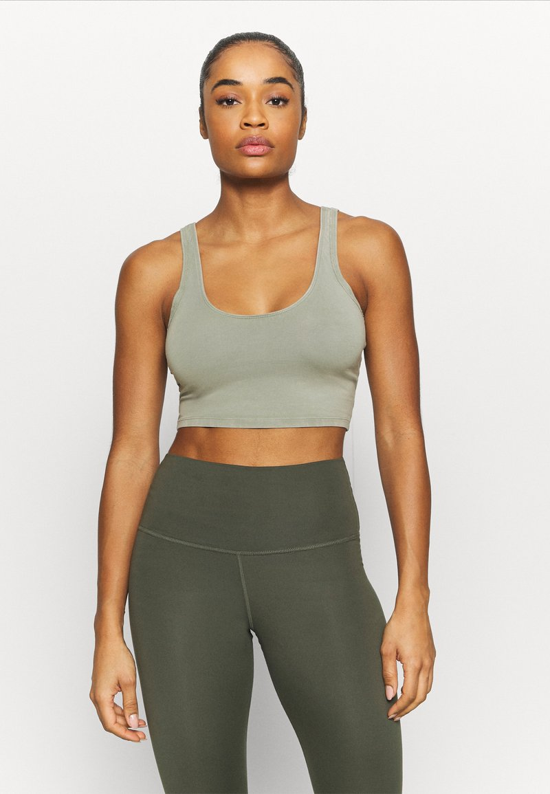 Free People - HOT SHOT CAMI - Top - cargokhaki