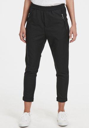 SAMANTHA - Trousers - black