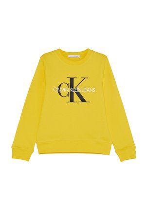 MONOGRAM LOGO UNISEX - Sweater - yellow