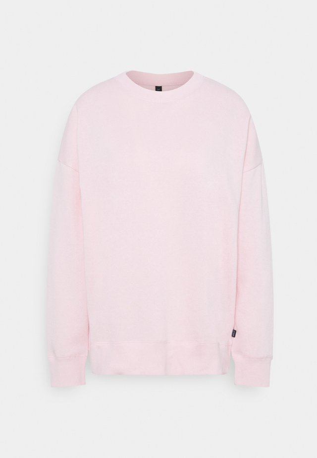 LONG SLEEVE CREW - Sweatshirt - pink sherbet