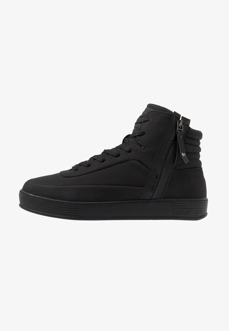Replay - CHAPEL - Sneakers high - black