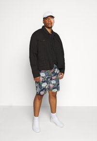 Jack´s Sportswear - FLORAL CHAMBRAY  - Shorts - dunkelblau - 1
