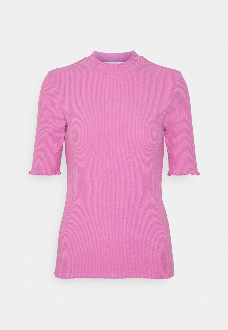 Selected Femme - SLFANNA TEE - Basic T-shirt - opera mauve