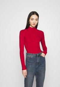 Even&Odd - Pullover - brick red - 0