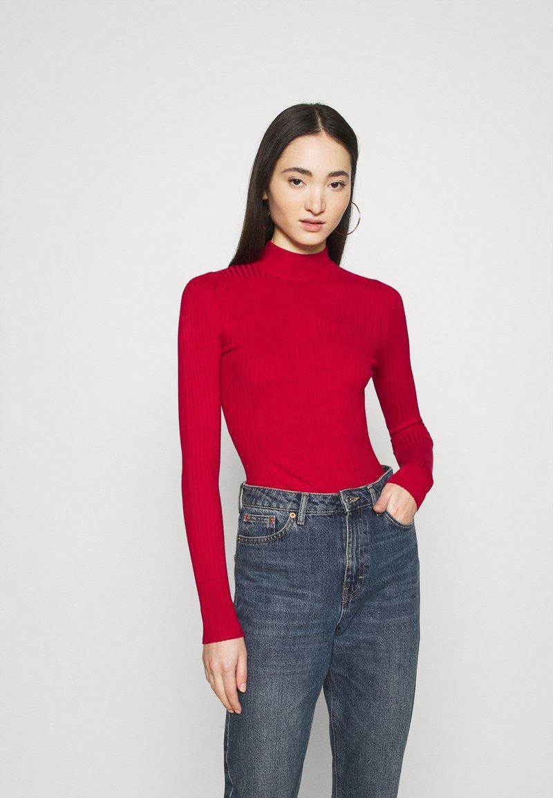 Even&Odd - Pullover - brick red