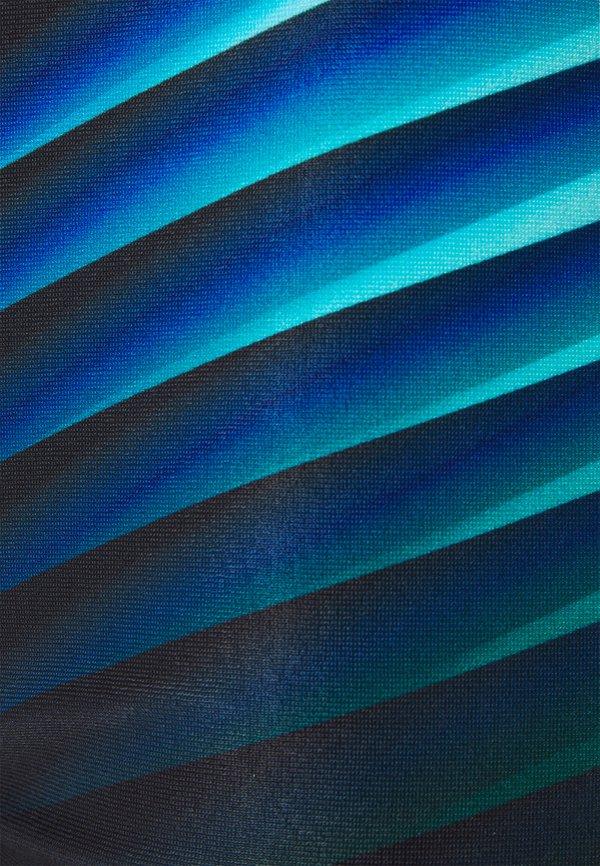 Speedo PLACEMENT AQUASHORT - KąpielÓwki - black/light adriatic/czarny Odzież Męska GMAJ