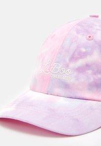 Lil'Boo - DAD  TIE DIE UNISEX - Kšiltovka - pink/light blue - 3