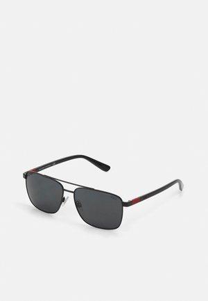 Sunglasses - semi shiny black
