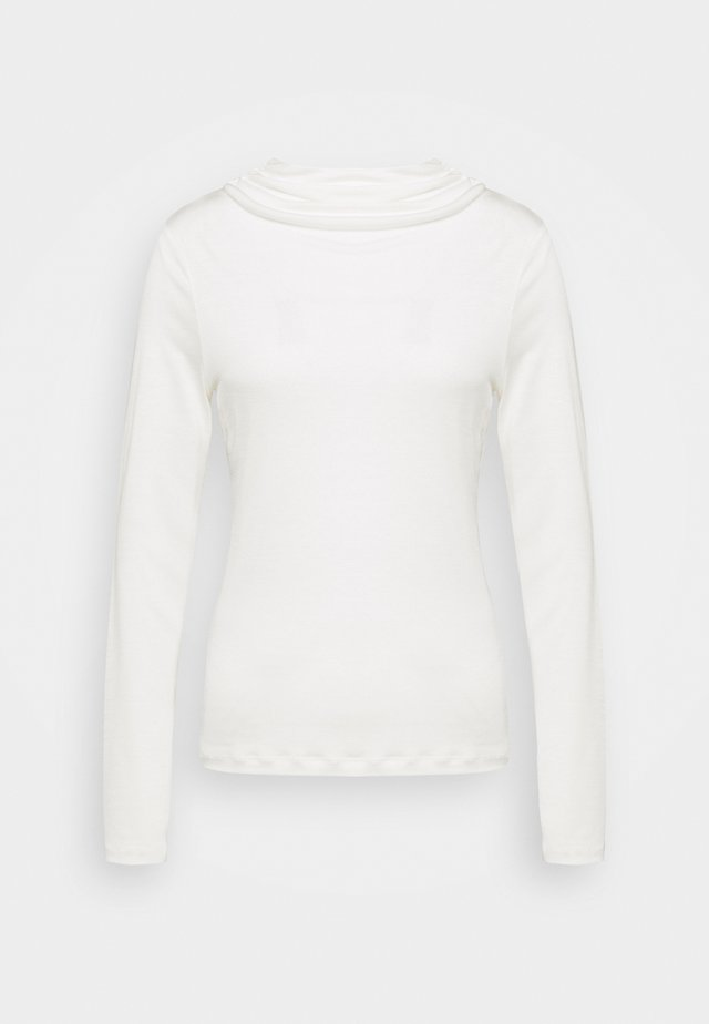 ANGIE - Long sleeved top - ivory