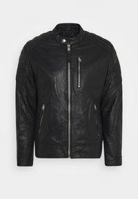 Schott - MARTIN - Leather jacket - black - 5