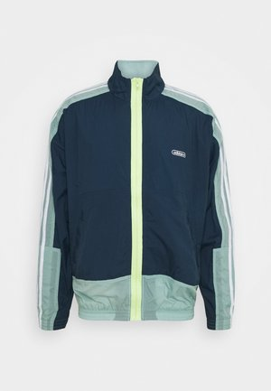 LIGHTWEIGHT UNISEX - Summer jacket - crew navy/hazy green