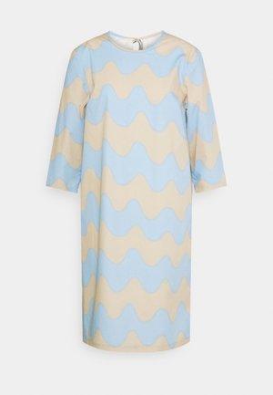 CLASSICS HAVAITTU PIKKU LOKKI DRESS - Vestito estivo - blue/sand
