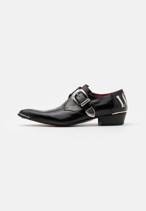 ADAMANT LOVE HATE MONK - Mocasines - college black