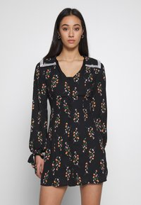Fashion Union - LEONA - Day dress - black - 0