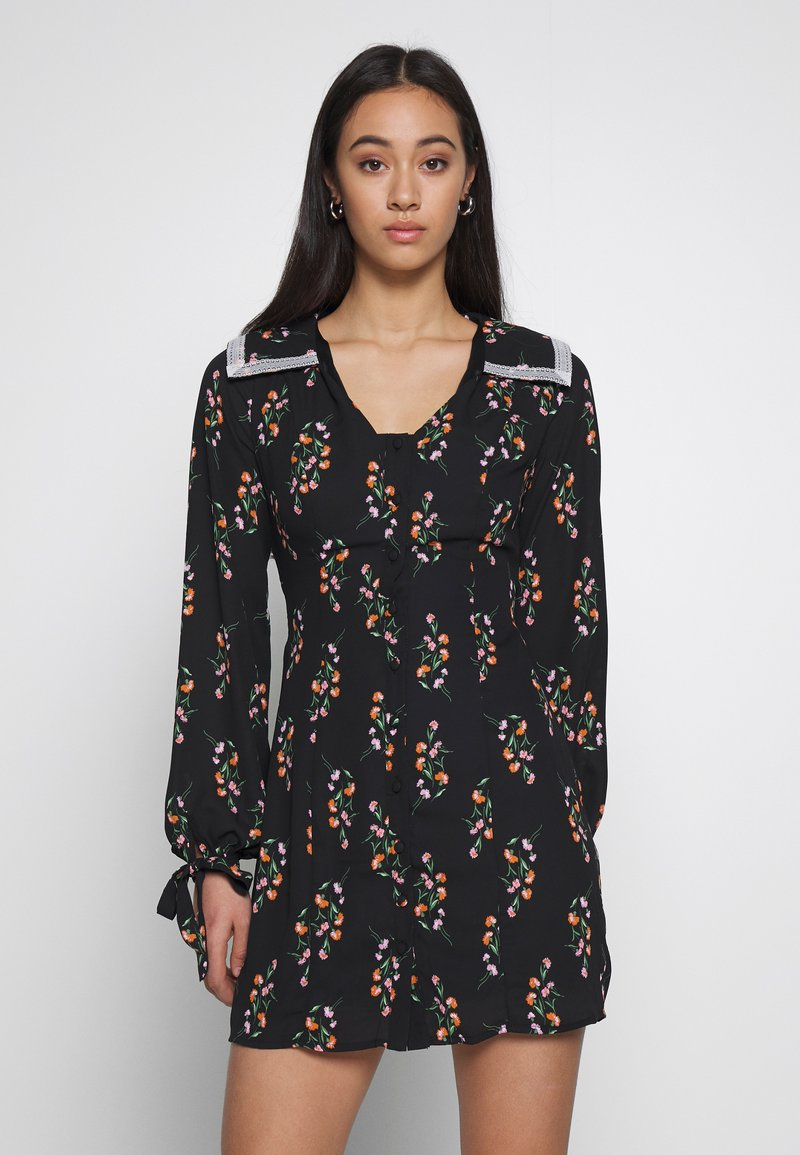 Fashion Union - LEONA - Day dress - black