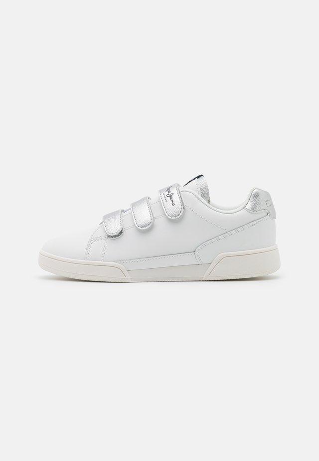 LAMBERT - Baskets basses - white