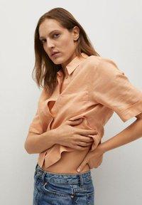 Mango - JENI - Button-down blouse - oranje - 4