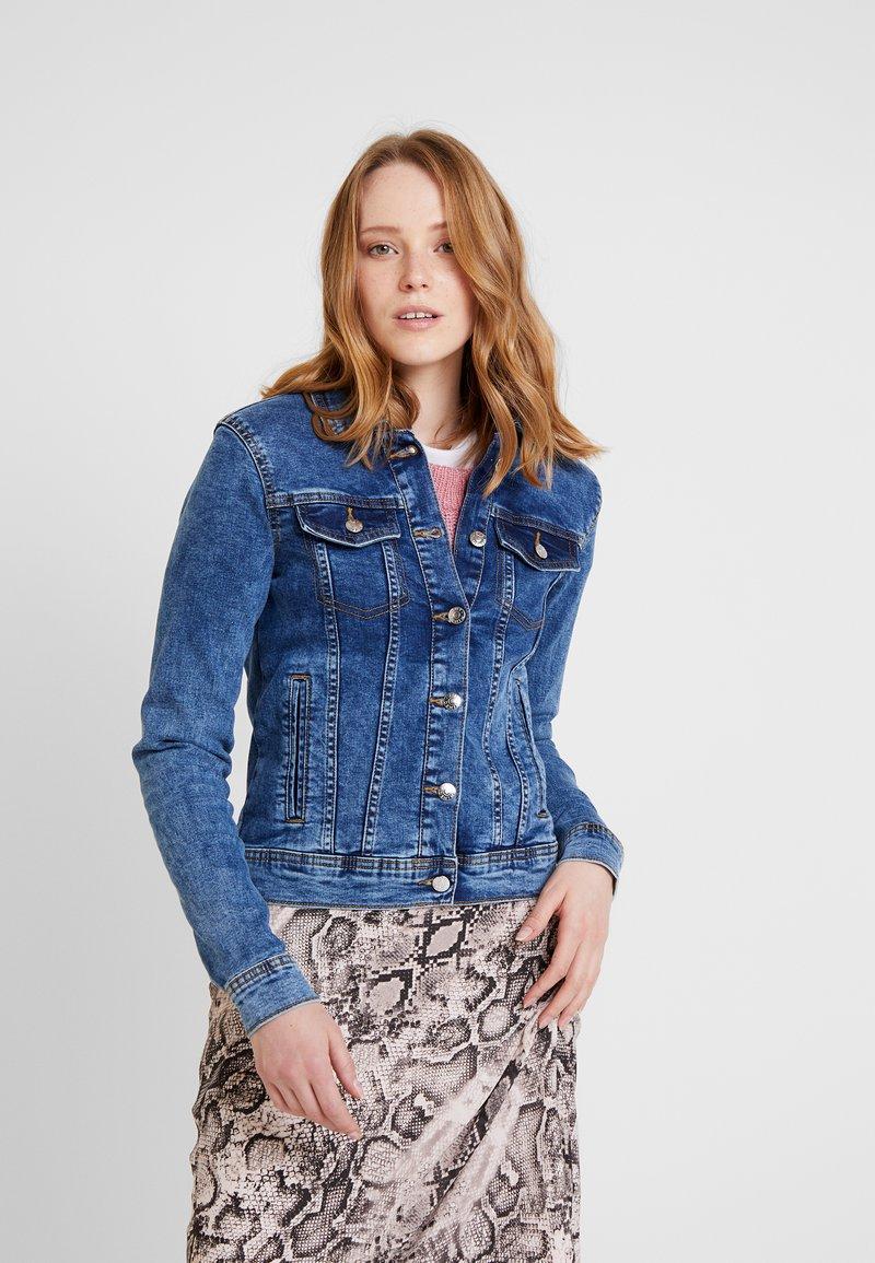 JDY - Denim jacket - medium blue denim