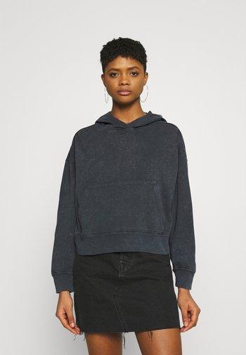 WASH HOODIE - Sweater - black