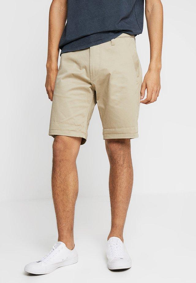 BRONSON STRAIGHT - Shorts - dune