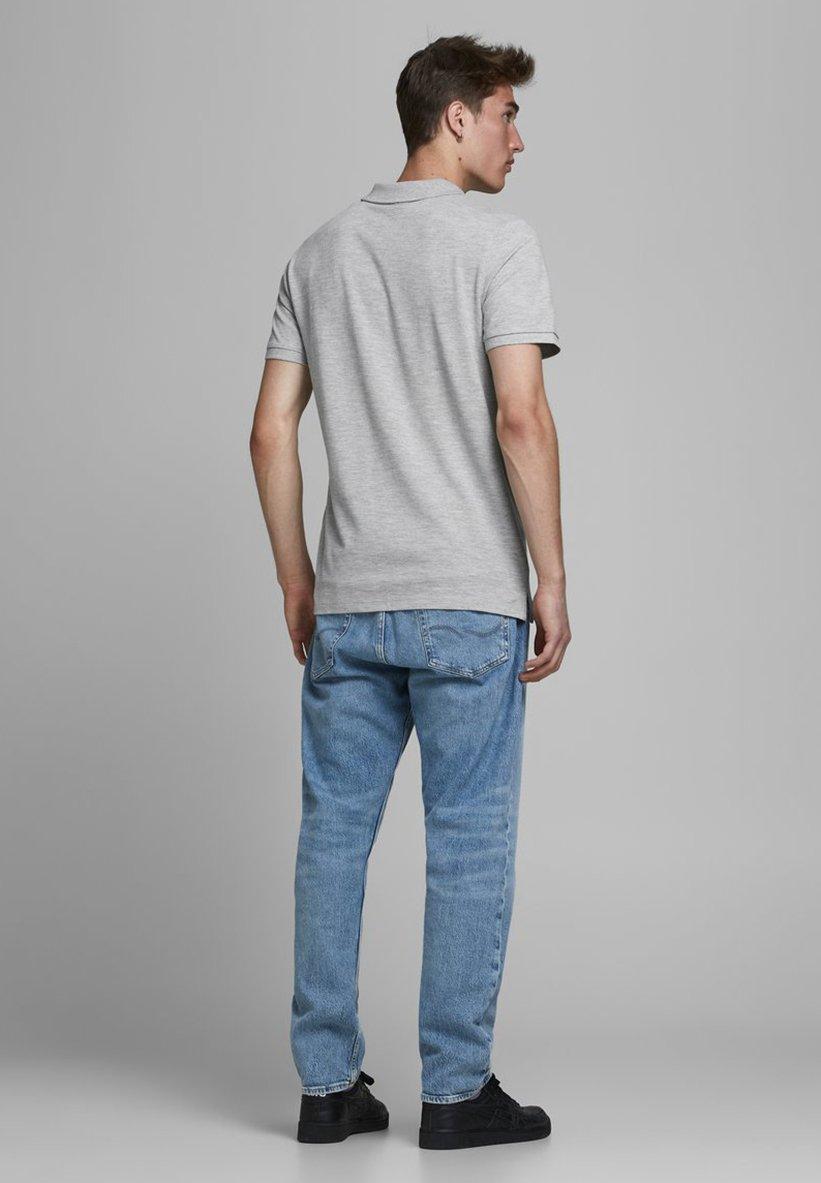 Jack & Jones Polo shirt - light grey melange Dm4Tz