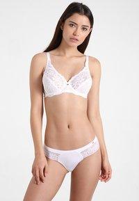Skiny - DAMEN RIO SLIP 2ER PACK - Braguitas - white - 0