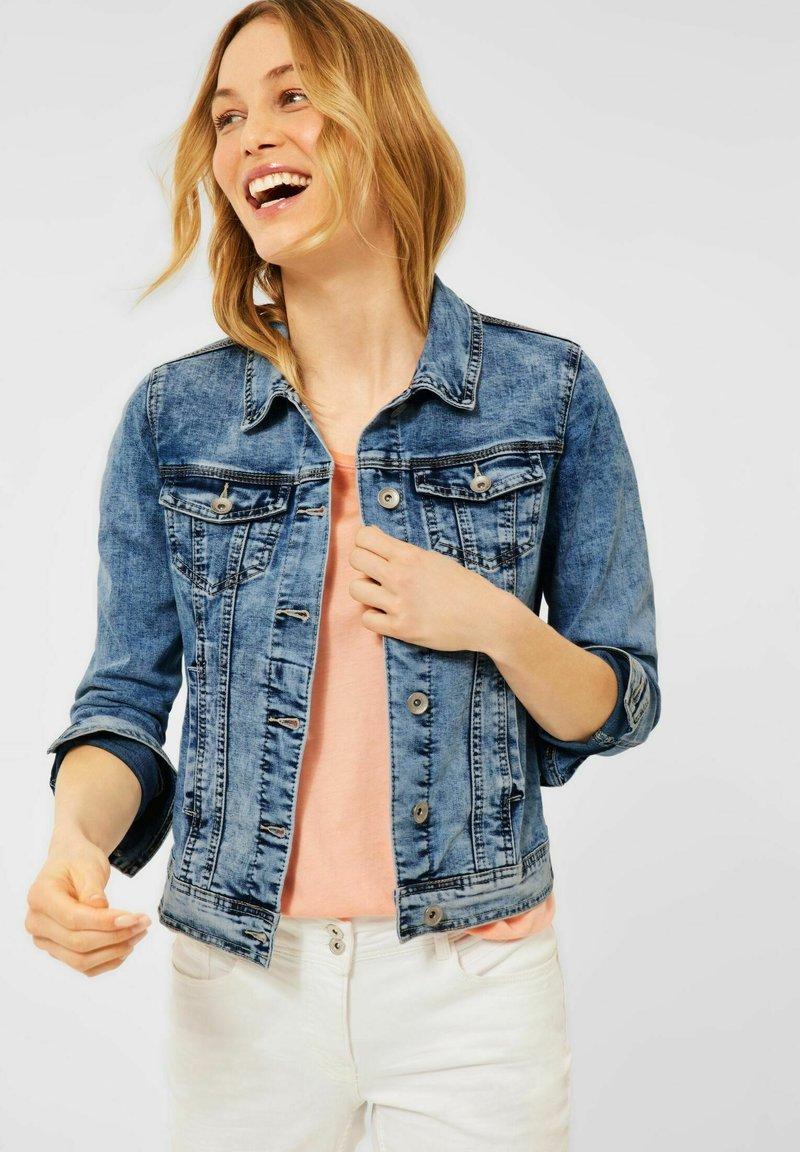 Cecil - Denim jacket - blue denim