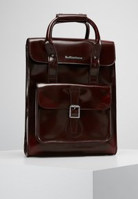 Dr. Martens - SMALL BACKPACK - Rucksack - cherry red cambridge brush - 0