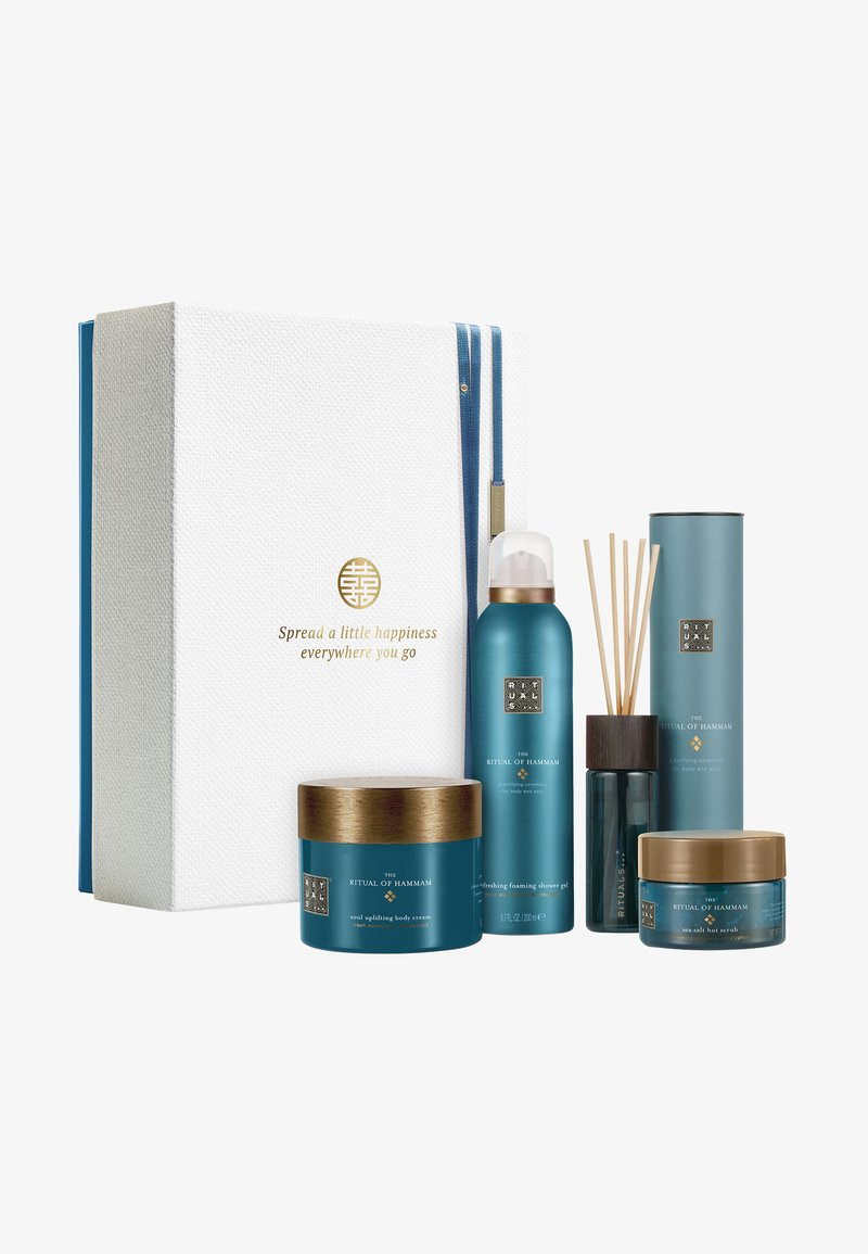 Rituals - THE RITUAL OF HAMMAM GIFT SET LARGE, PURIFYING COLLECTION - Bath and body set - -