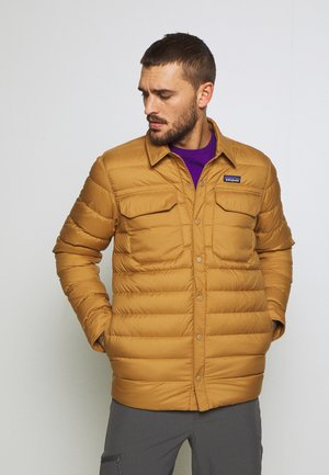 SILENT - Down jacket - nest brown