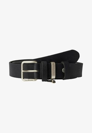 SASH CHAIN - Belt business - dk black antic silver