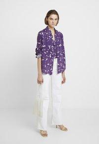 Hope - TWICE - Skjorte - purple sweep print - 1