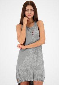 alife & kickin - Denim dress - light grey denim - 0