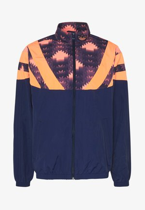GRAPHICS SPORT INSPIRED TRACK TOP - Training jacket - blue
