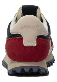 ASFVLT - GATE GAT005 - SNEAKER LOW - Trainers - navy tan red - 2