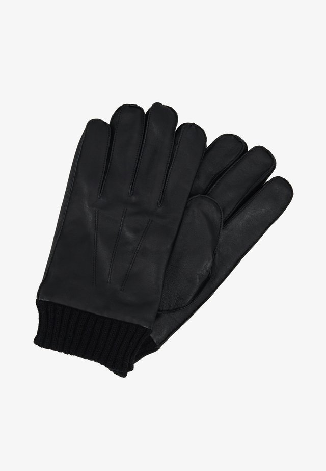HACKNEY GLOVES - Fingerhandschuh - black