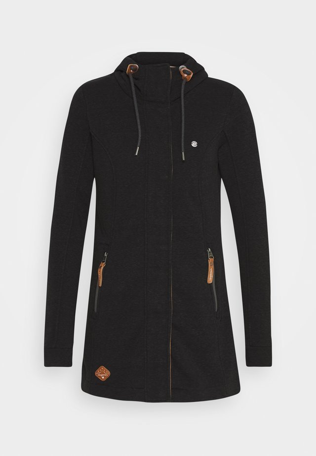 LETTY - Zip-up hoodie - black