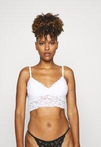 Anna Field - 2 PACK - Triangle bra - white - 2