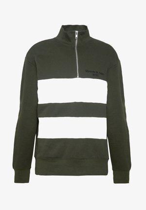LUCAS PANEL - Sweatshirt - khaki