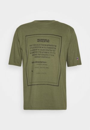JAYDEN MODERN CREWNECK TEE UNISEX - Print T-shirt - four leav clover