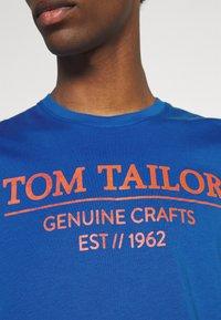 TOM TAILOR - Triko spotiskem - clearly blue - 6