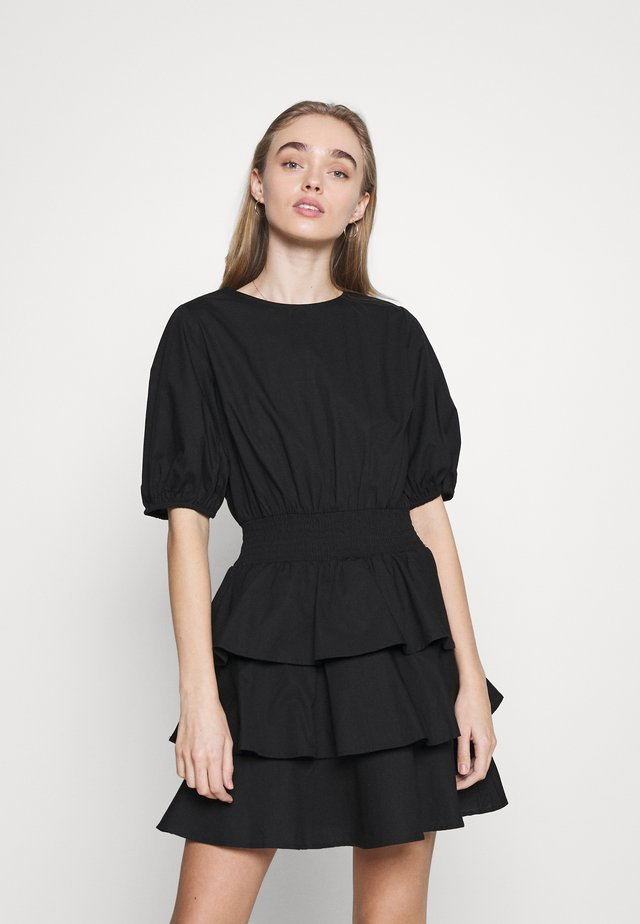 EXCLUSIVE ANITHA DRESS - Korte jurk - black